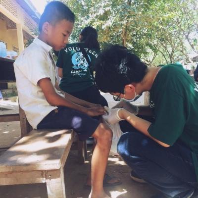 カンボジアで公衆衛生 佐瀬光雄
